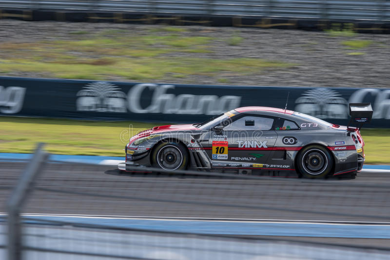 Andre Couto van GAINER in Super Definitieve Race 66 van GT Overlappingen bij 2015 AUT stock afbeeldingen