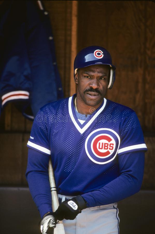 Andre Dawson, Chicago Cubs stock foto