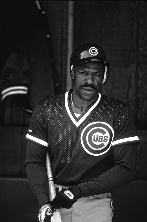 Andre Dawson Chicago Cubs imagenes de archivo