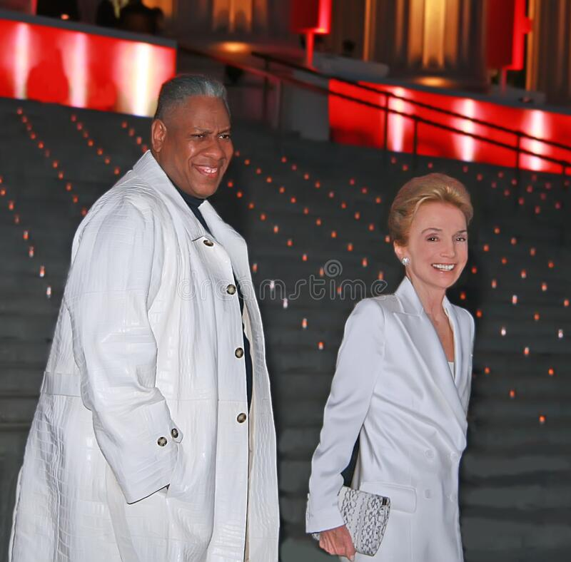 Free Andre Leon Talley And Lee Radziwill At The Vanity Fair Party For The 2008 Tribeca Film Festival Stock Images - 192501524