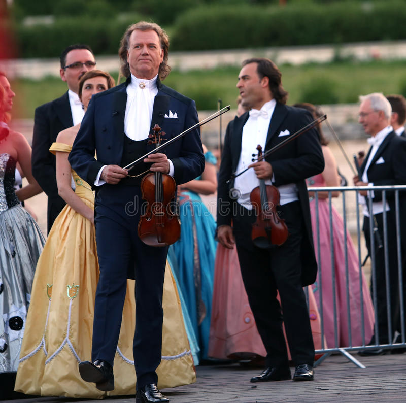 Andre Rieu royalty free stock photo