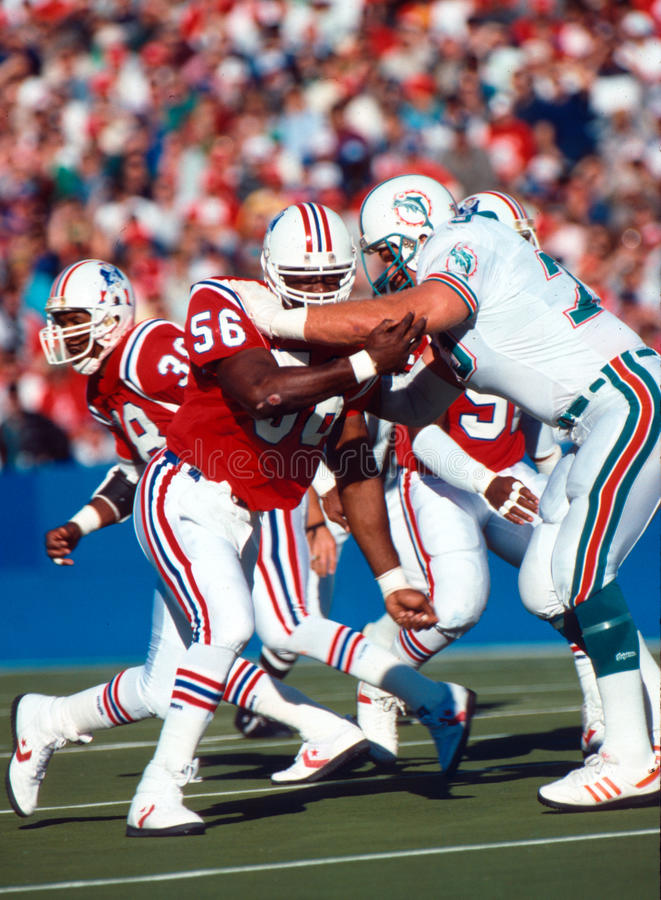 Andre Tippett royalty free stock images