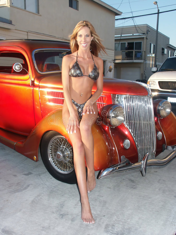 Andrea Bikini 3 Stock Afbeeldingen