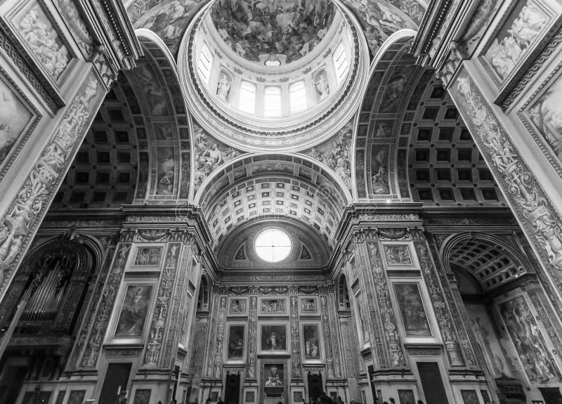 ` Andrea Church de Sant photographie stock