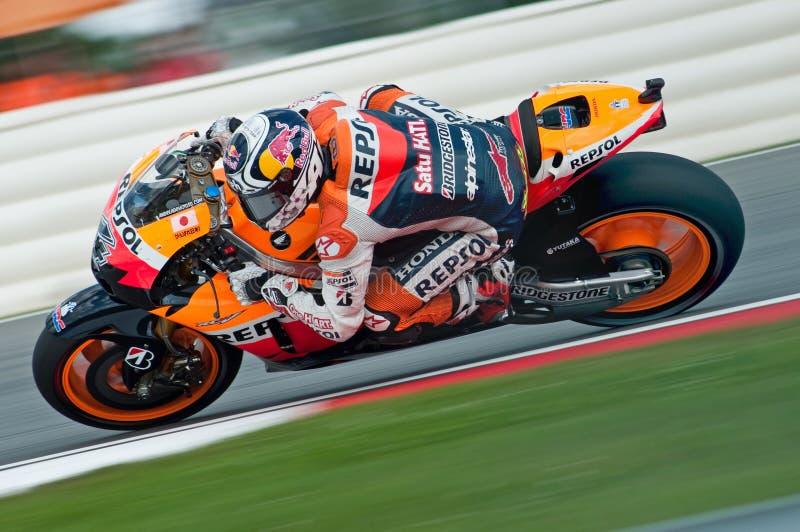 Andrea Dovizioso - Repsol Honda lizenzfreies stockbild