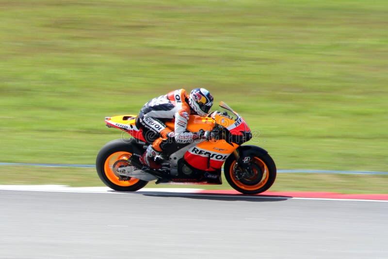 Andrea Dovizioso Repsol Honda des Teams lizenzfreies stockfoto