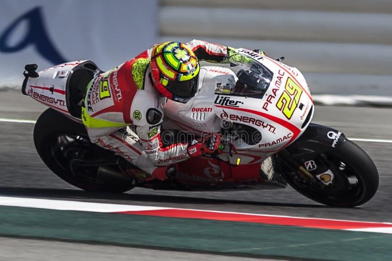 Andrea Iannone, MotoGP Montmelo stockfoto