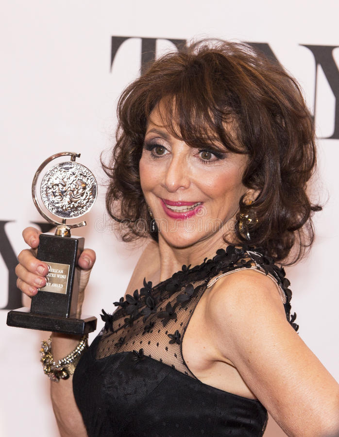 Andrea Martin. Veteran tv and film actress perhaps best known for her brilliant work on SCTV, Andrea Martin is quite accAt the 67th Annual Tony Awards June 9 royalty free stock images