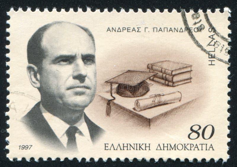 Andreas Papandreou fotografia de stock