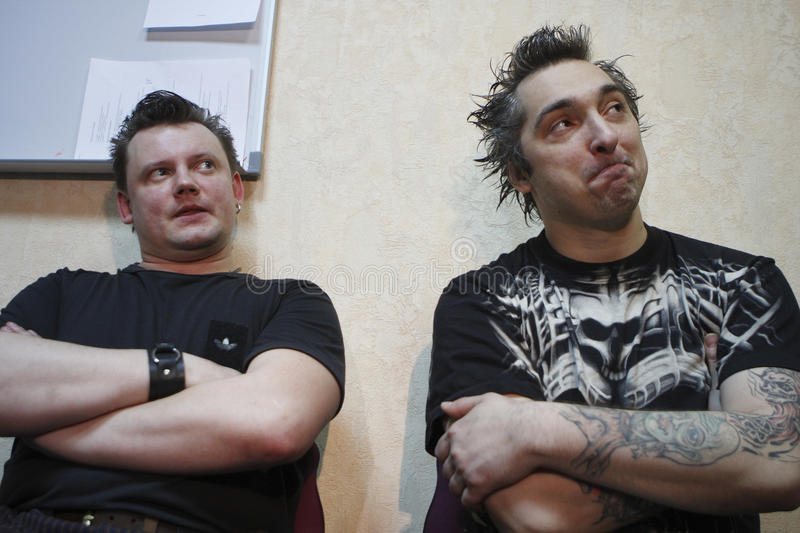 Andrei Knyazev and Michael Gorsh royalty free stock image