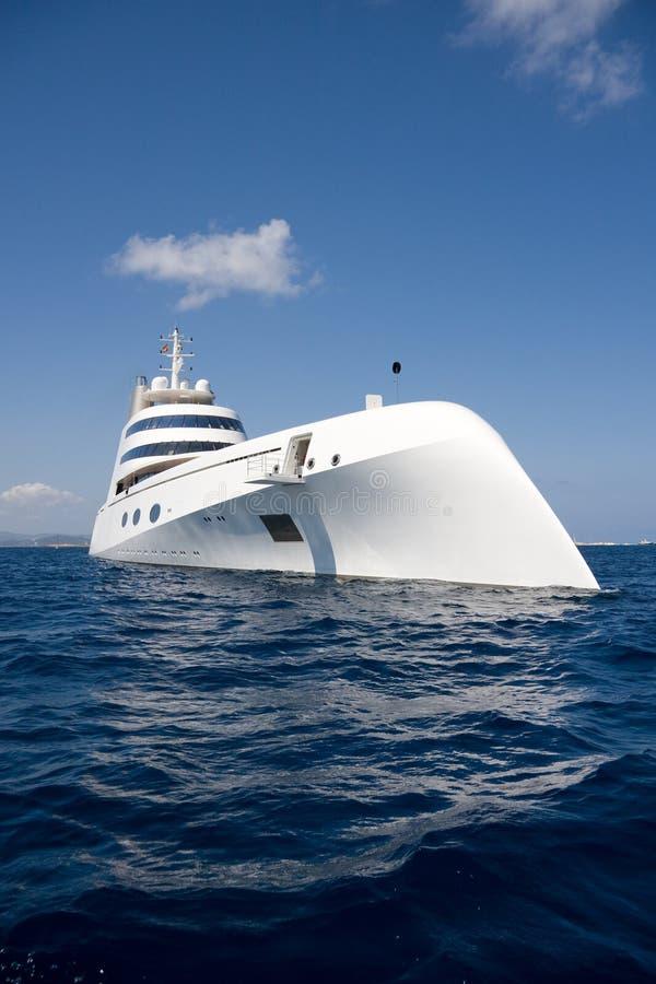 Andrei Melnichenko super yacht stock image