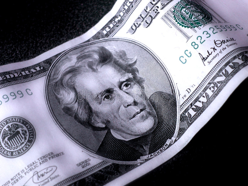 Download Andrew Jackson stock photo. Image of cash, green, moola - 104508