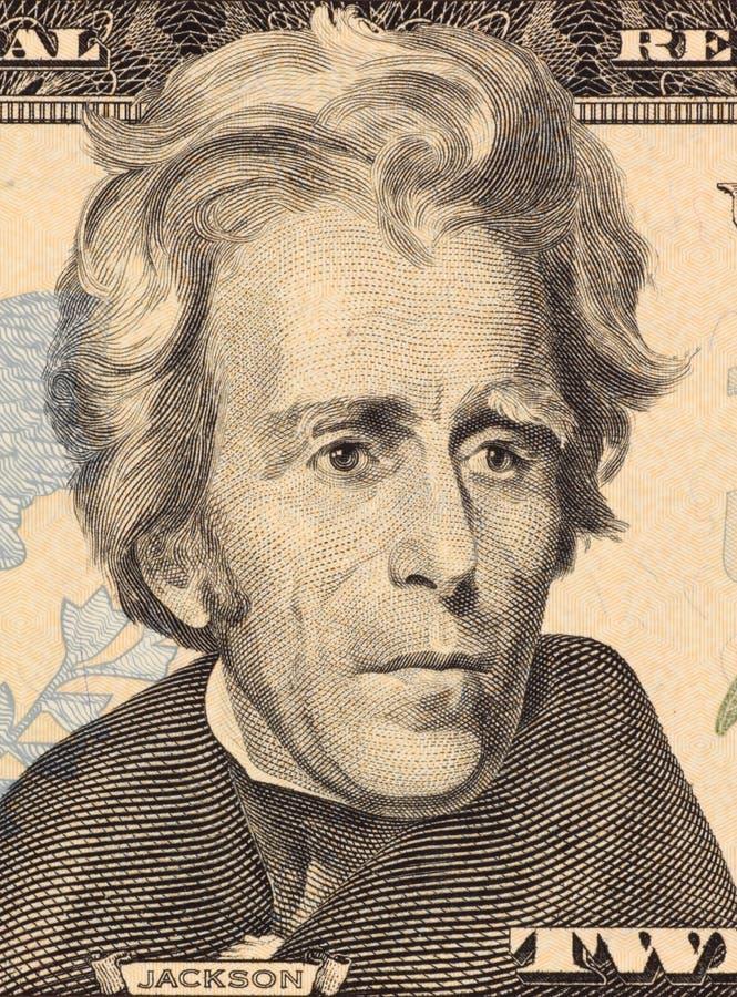 Andrew Jackson fotografía de archivo