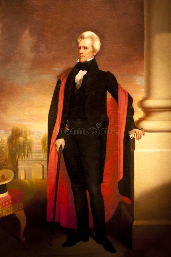 Andrew Jackson immagini stock