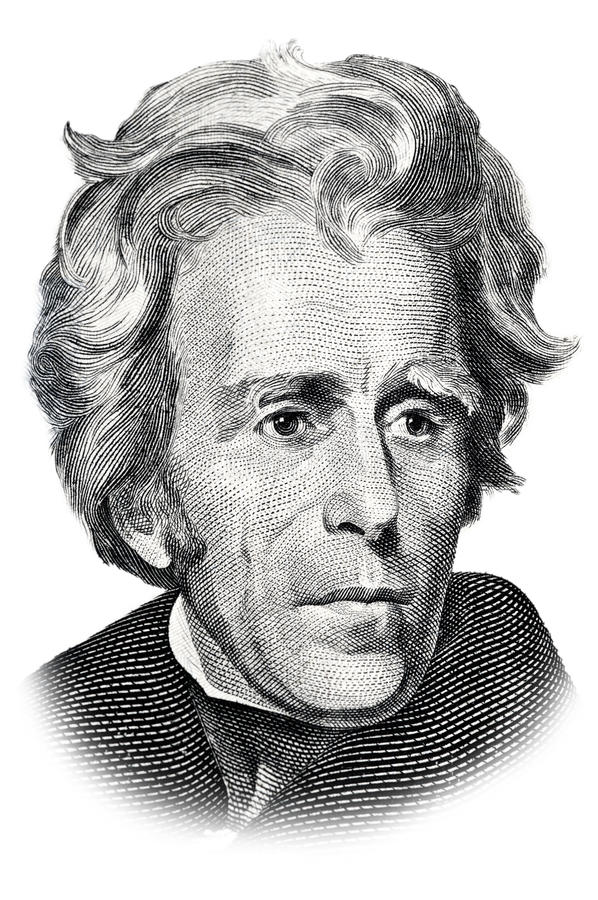 Andrew Jackson royalty illustrazione gratis