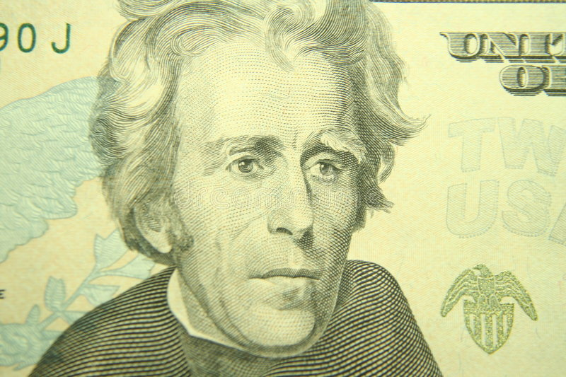 Download Andrew jackson stock image. Image of benjamins, note, franklin - 837241