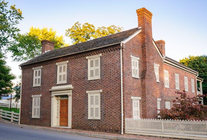 Andrew Johnson Krajowy Historyczny miejsce fotografia royalty free