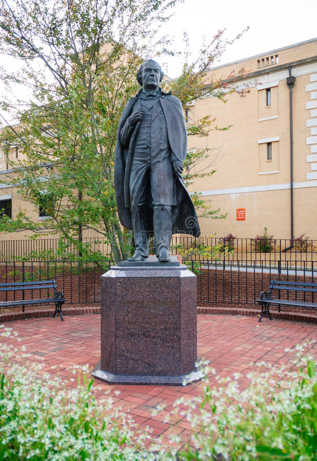 Andrew Johnson National Historic Site fotografía de archivo