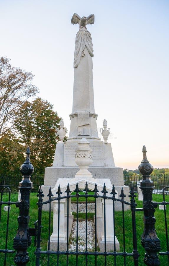 Andrew Johnson National Historic Site immagine stock