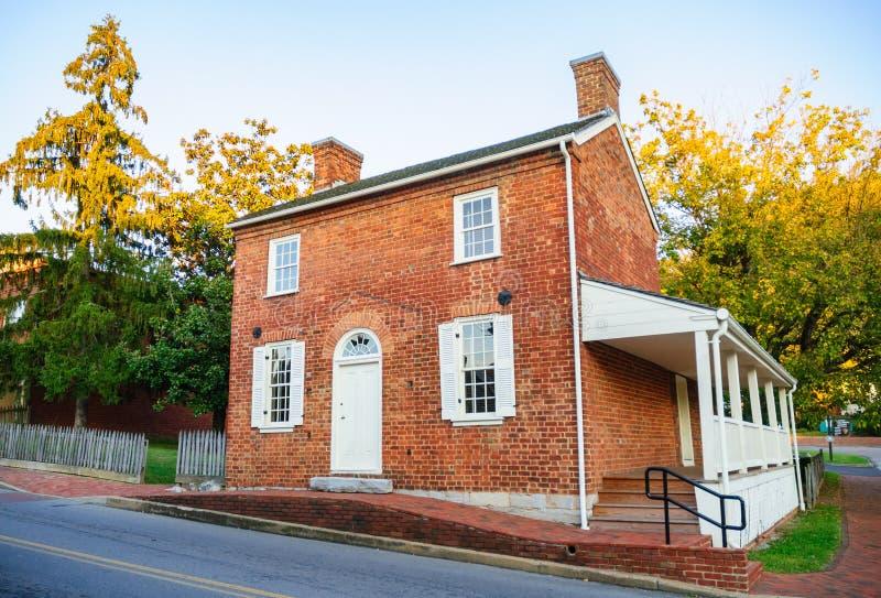 Andrew Johnson National Historic Site royalty-vrije stock afbeeldingen