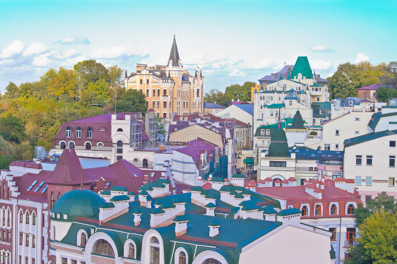 Download The Andrew's Descent In Kiev Stock Image - Image: 28365867