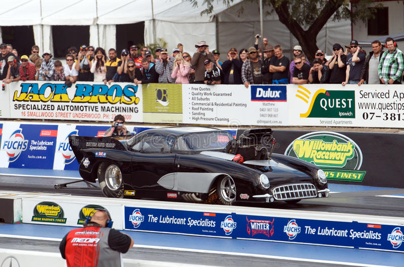 Andrew Sutton's 53 Corvette stock image