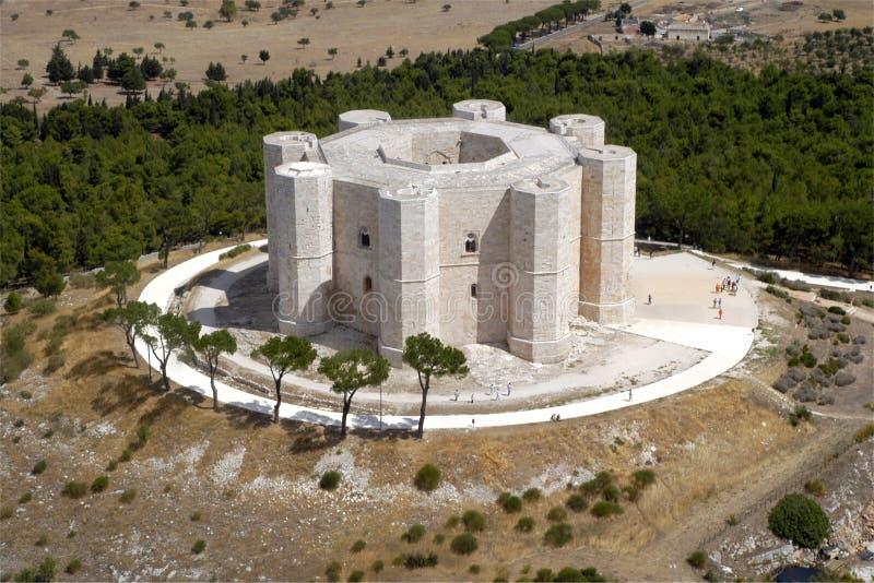 andria城堡 库存图片