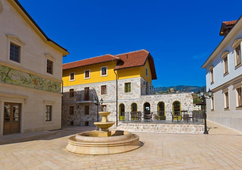 Andricgrad ou Kamengrad à Visegrad - en Bosnie-Herzégovine photographie stock