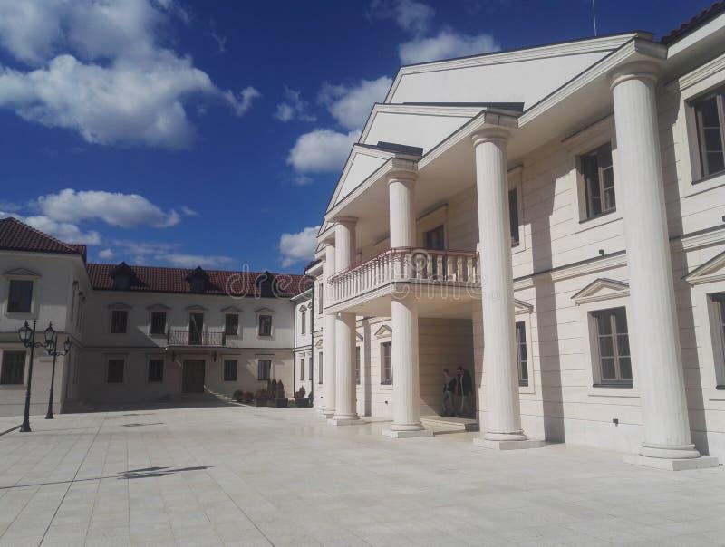 Andricgrad, situado em Visegrad, em Bósnia e em Herzegovina foto de stock