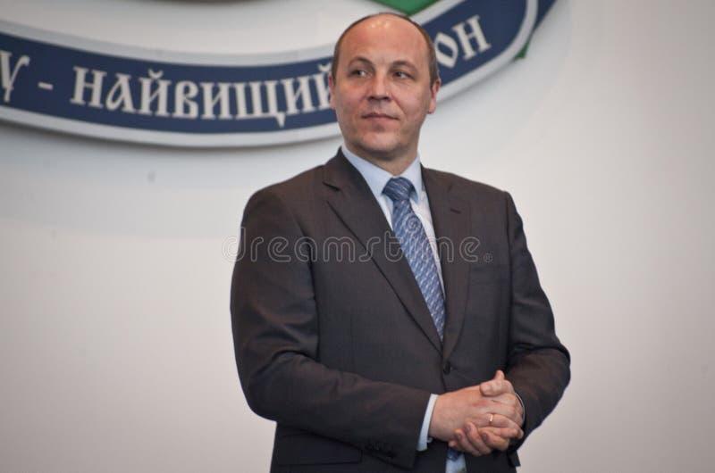 Andriy Parubiy foto de stock royalty free