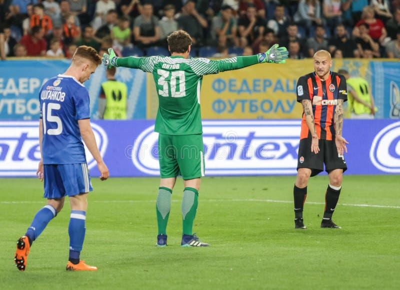 Andriy Pyatov и Yaroslav Rakitskiy стоковое фото