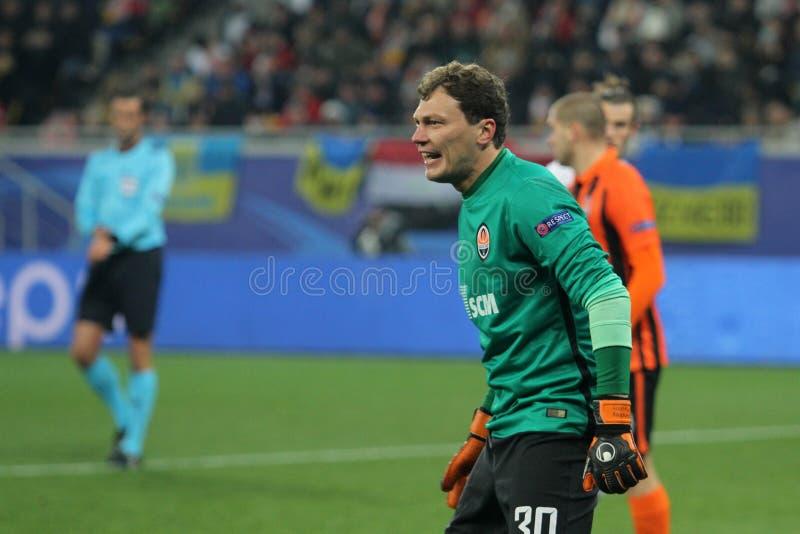 Andriy Pyatov стоковое фото rf