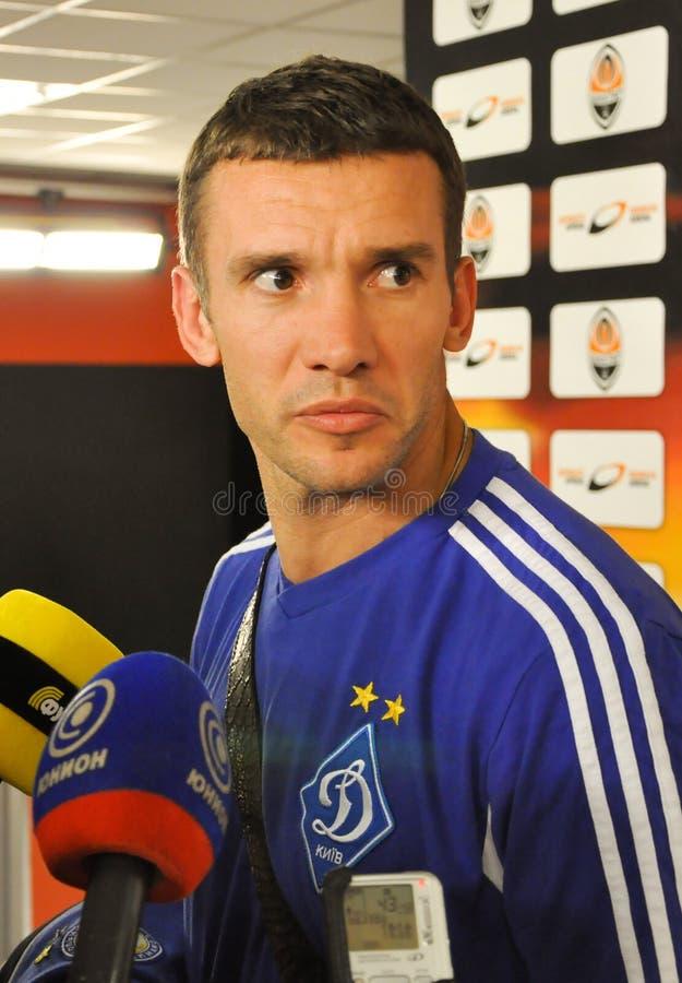 Andriy Shevchenko стоковое изображение rf