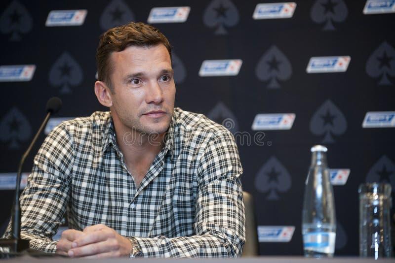 Andriy Shevchenko fotografía de archivo