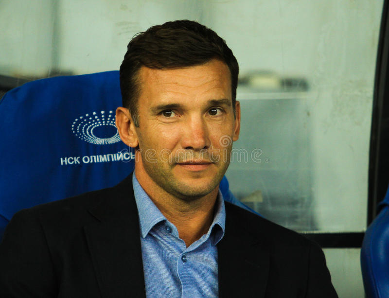 Andriy Shevchenko royalty-vrije stock afbeelding