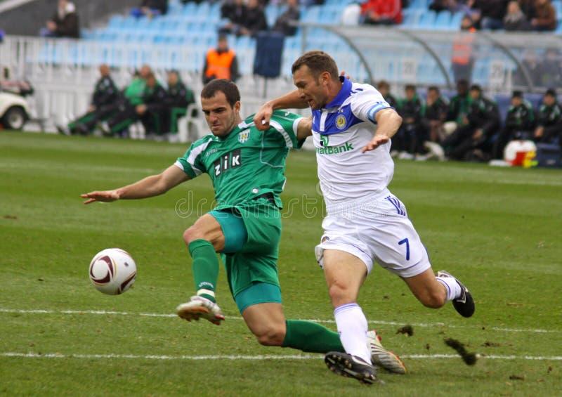 Download Andriy Shevchenko And Ivan Milosevic Editorial Stock Photo - Image: 16592463