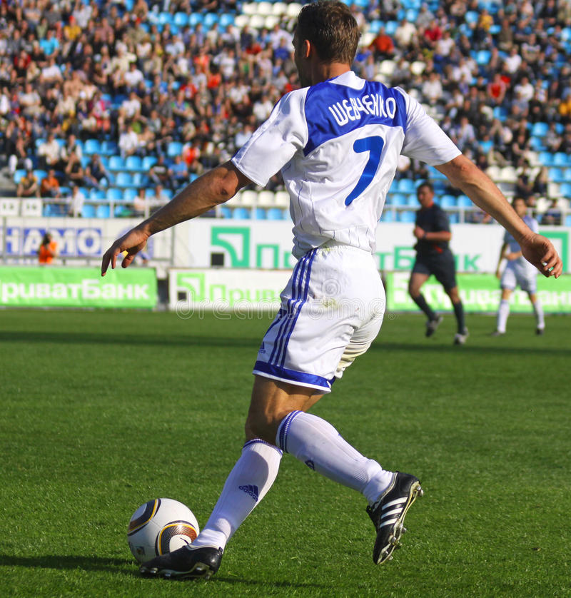 Free Andriy Shevchenko Of Dynamo Kyiv Stock Image - 14205631