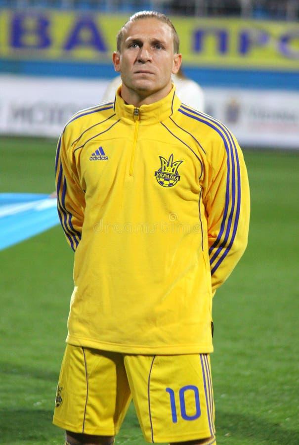 Andriy Voronin von Ukraine lizenzfreies stockbild