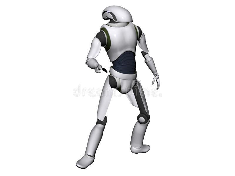 Androïde of robot vector illustratie
