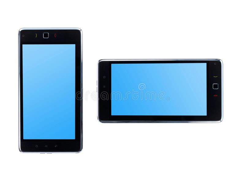 Androïde Tablet royalty-vrije stock foto's
