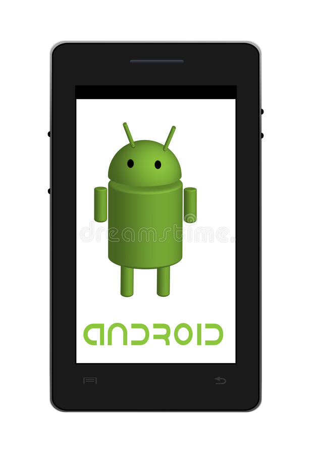 Androïde tablet vector illustratie