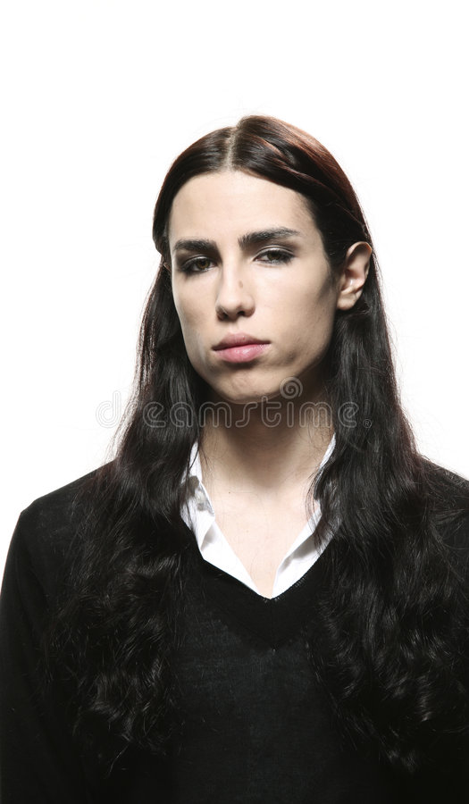 Androgynous Man Stock Photos