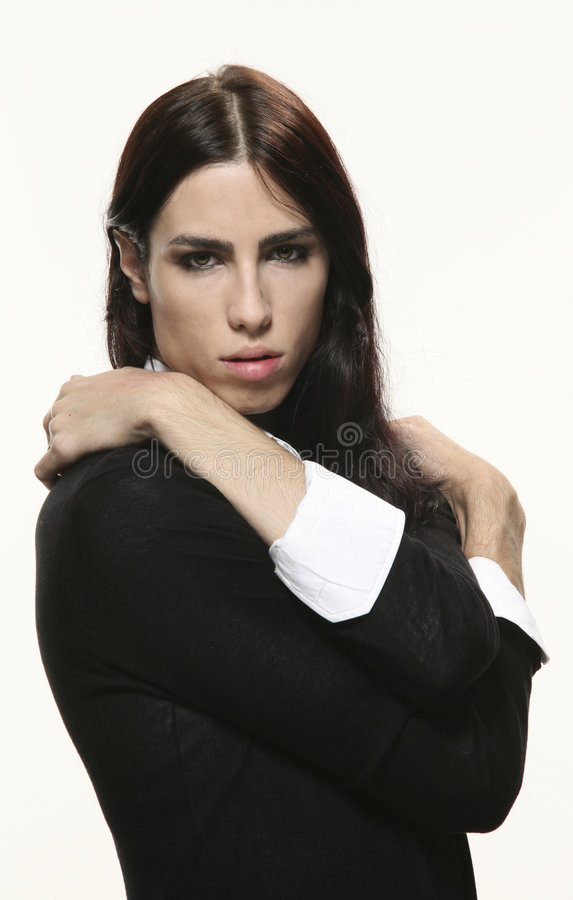 Androgynous Man Royalty Free Stock Images