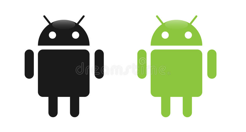 Android. OS logo,vector illustration