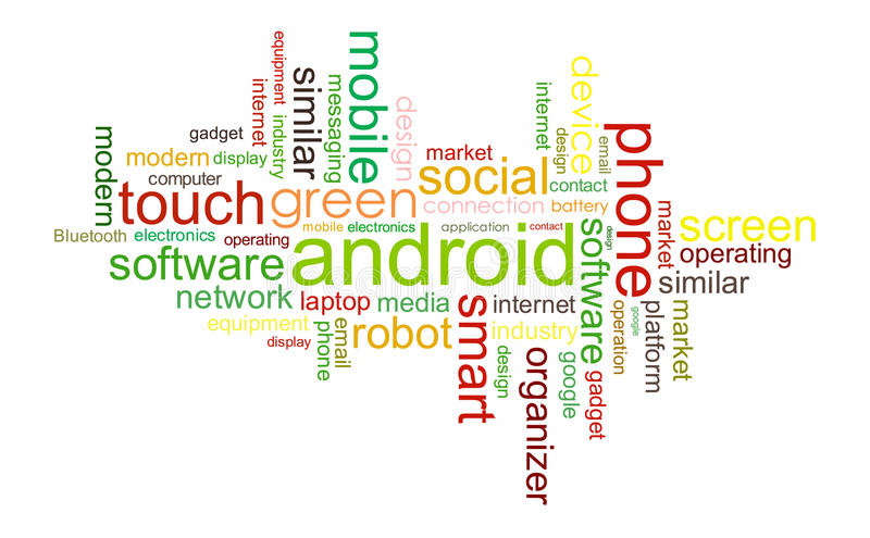 Android royalty ilustracja