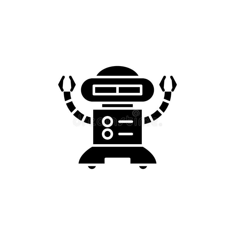 Robot With E-mail Symbol Stock Illustration . Illustration