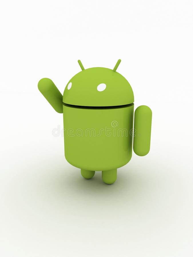 Android Character vector illustration