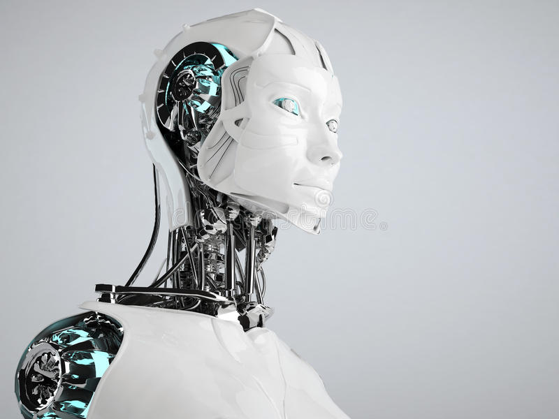Android del robot illustrazione vettoriale