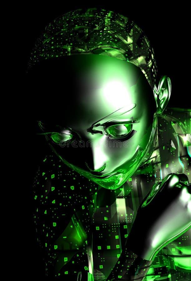 android dziewczyna
