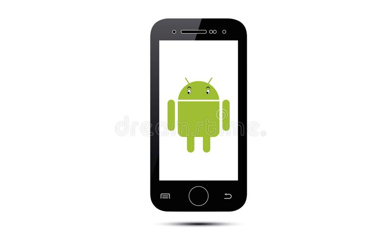 Android-Handy stock abbildung